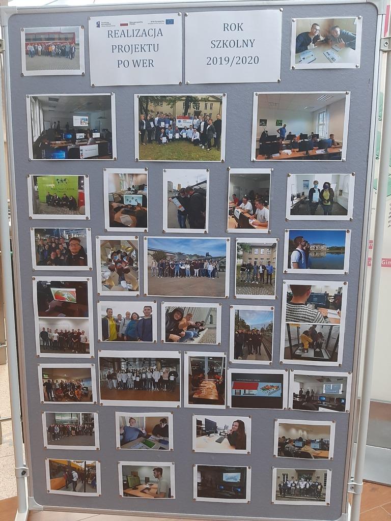 Galeria zdjęć przedstawiająca realizację projektu PO WER
