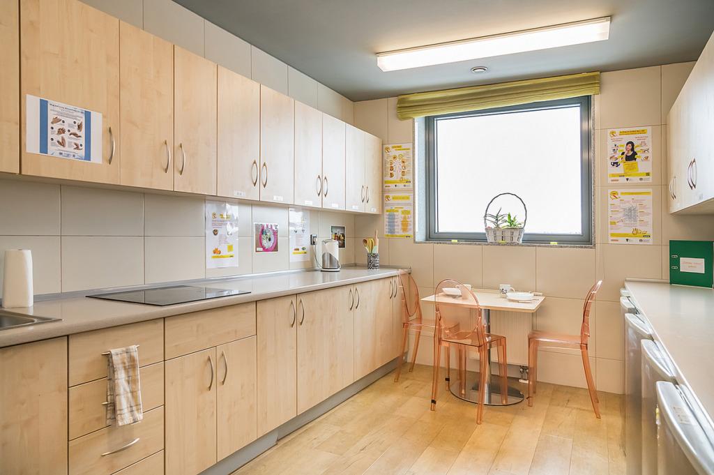 Pomieszczenia Internatu - kuchnia
