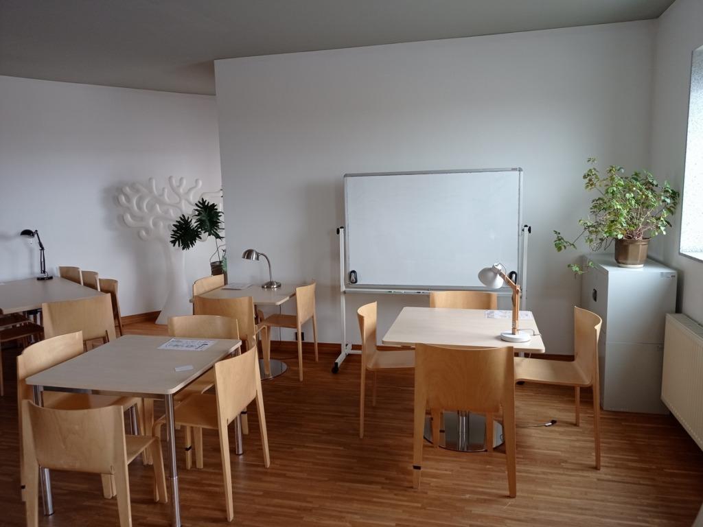 Pomieszczenia Internatu - pokój nauki