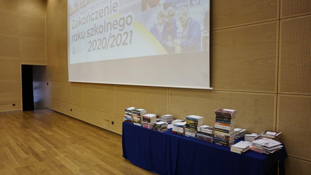 Nagrody przygotowane do zakończenia roku 2020/21
