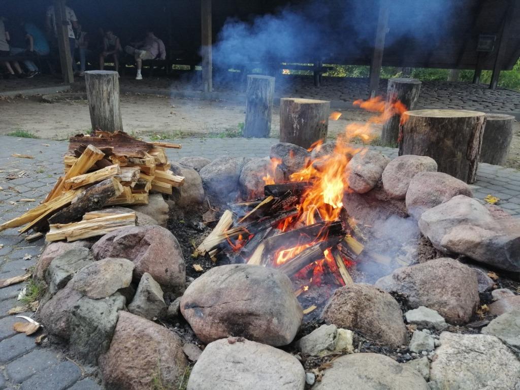 Płomień ogniska